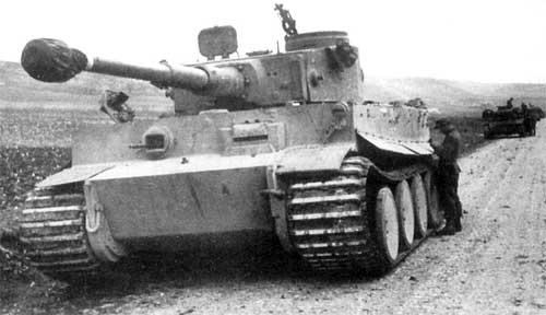 «Белый тигр» готовится к бою - Архив новостей ... Танк Белый Тигр Фото